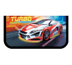 "Пенал 2 отд. ""Turbo Racing"" ткань"